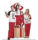 Best Christmas Family Pajamas - Multitrust Family Matching Christmas Pajamas Set Deer Tops Review