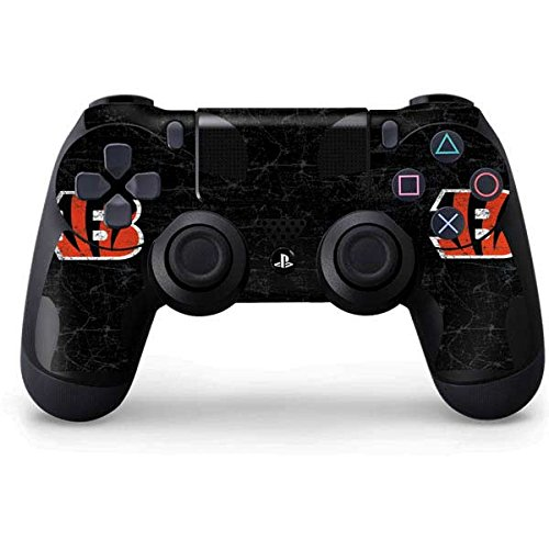 NFL Cincinnati Bengals Distressed Skin for Sony PlayStation 4/ PS4 Dual Shock4 Controller