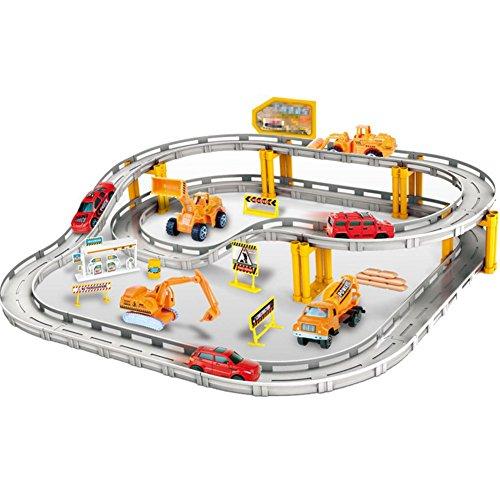 XLM Eisenbahn Schienen Set Elektrisch Auto Pädagogisches Spielzeug für Kinder ab 6 jahre