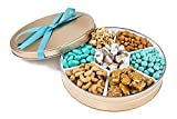 Healthy Gift Tray with 7 Different Snacks, Nuts & Dried Fruit