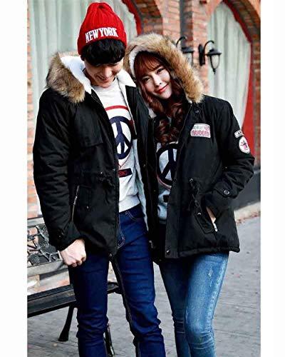 Winter Winter Jacket Jacket Parka Jacket Outwear Men's Warm Coat Hooded Apparel Winter Schwarz Coat Velvet Jacket Thick dv1wApq
