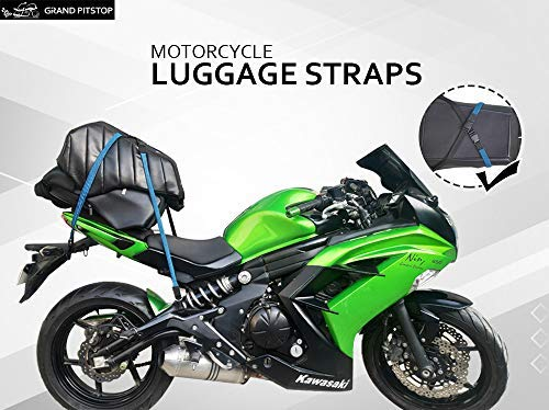 Grand Pitstop Motorbike Luggage Straps - Set of 2