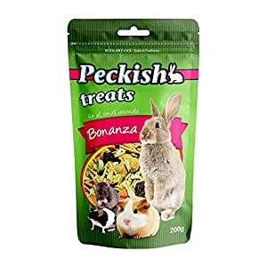 Peckish Bonanza Treats for Small Animals 200 g Small Animal Treats