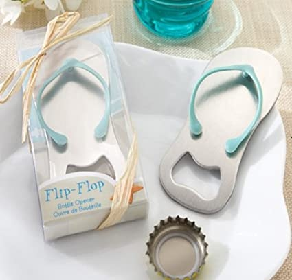 2f21586468542f Special quot pop the Top quot  Flip-flop Bottle Opener for Wedding Favors  ...