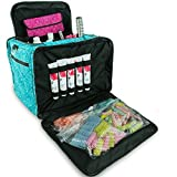 Roo Beauty Mobile Hairdressing Bag in Imperial Teal, Hairdressers Toolbag / Kitbag With Heat Proof Pocket by Roo Beauty