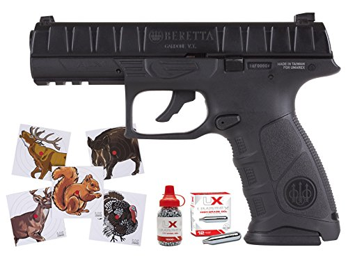 Beretta APX Blowback Air Pistol Combo air rifle Beretta Slide