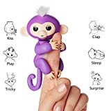 Fingerlings , Little Interactive Baby Monkey- WAITCHOC Electronic Toy for Children And Kids