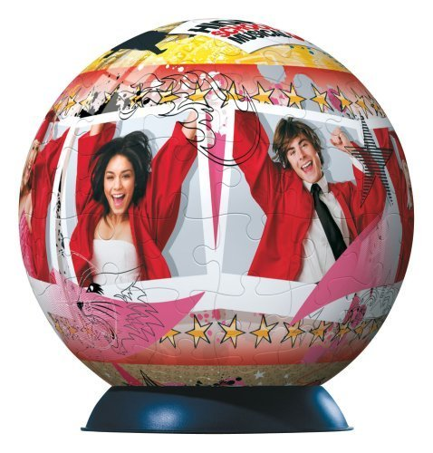 High School Musical 3 puzzleball 96 piece puzzle by Ravensburger