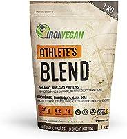 Iron Vegan Athlete's Blend Protein Powder, Chocolate Flavour,