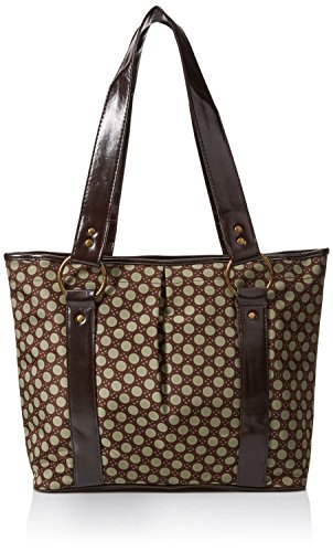 Baby Essentials Circle Fashion Diaper Tote, Sage