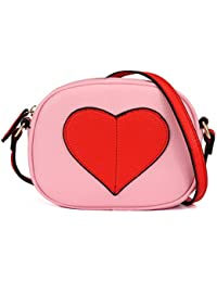 Mini Heart Shape Kids Purse and Handbags for Little Girls...