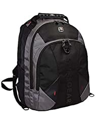 Swiss Gear Pulsar 16 Black/Grey Padded Laptop Backpack