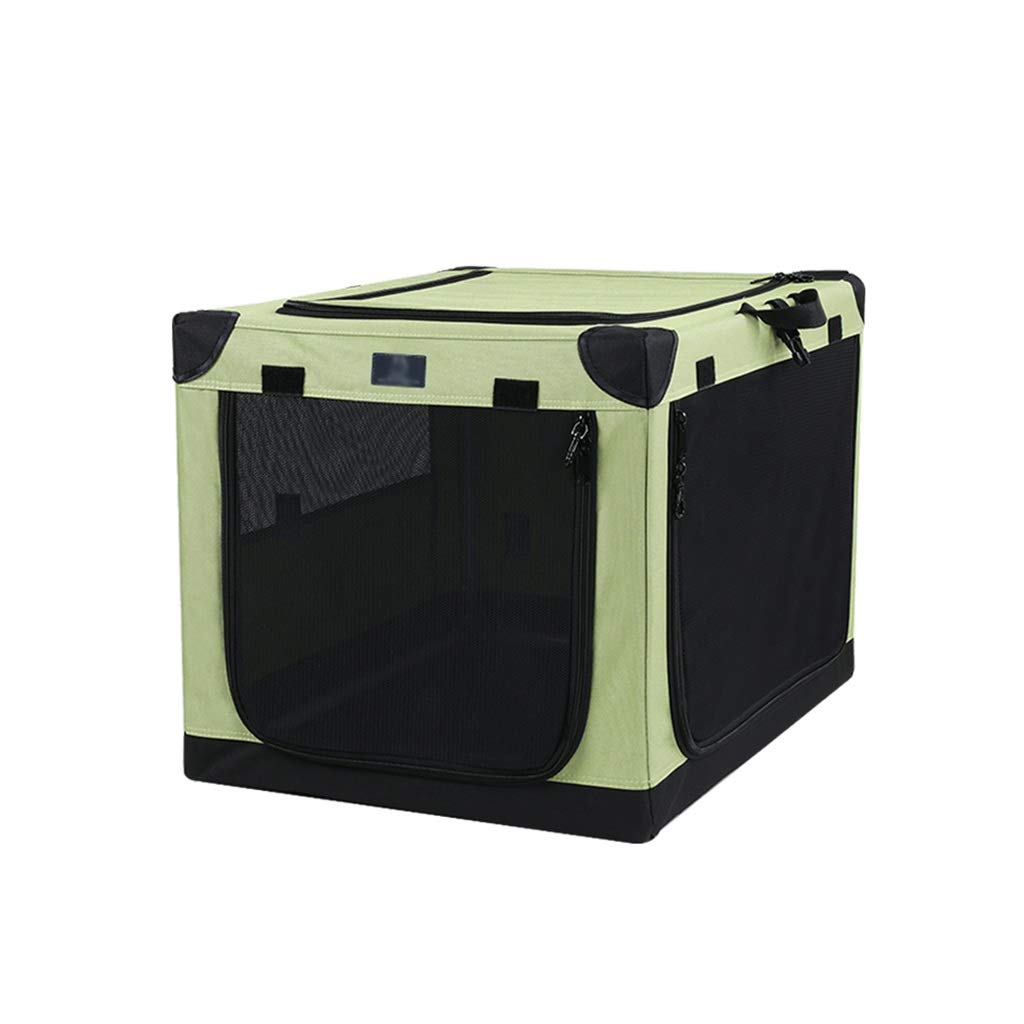654543cm Pet fence Pet room Pet tent Fully enclosed Foldable Breathable Oxford cloth Pet folding fence Portable type big space outdoor Travel (Size   65  45  43cm)