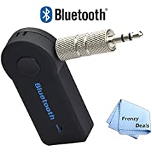 Bluetooth Car Audio Receiver/Player & a Frenzy Deals Microfiber Cloth