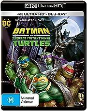 DC Batman vs Teenage Mutant Ninja Turtles (Ltd) (4K Ultra HD + Blu-ray)