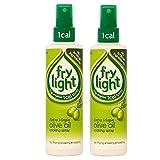 Frylight Extra Virgin Olive Oil Spray 190ml - Pack of 2