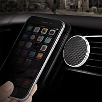JustClick Genuine Carbon Fiber Universal Magnetic Car Air Vent Dash Mount by MonCarbone