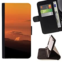 SUPER PIG - FOR sony Xperia M4 Aqua - Canada In The Distance - Wallet Pu Leather Credit Card Holder Pouch Case Cover