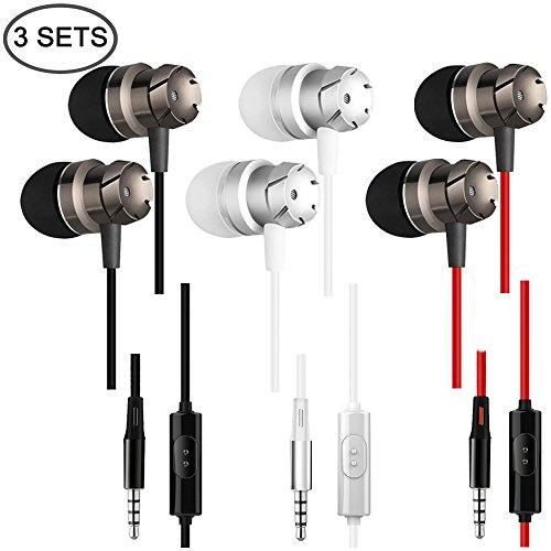 3 Packs Earbud Headphones