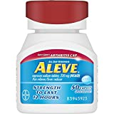 Aleve Caplets Soft Grip Arthritis Cap, 50 ea