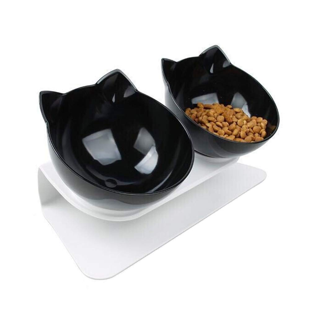 C3 Water Feeder Dish Double NonSlip Pet Bowl for Pets Feeding Supplies