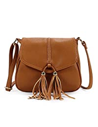 Scarleton Chic Tassel Falp Crossbody Bag H1869