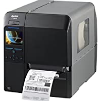 Sato WWCL00181 Series CL4NX High Performance Thermal Printer, 203 dpi Resolution, 10 ips Print Speed, Serial/Parallel/Ethernet/USB/Bluetooth/WLAN Interface, Cutter, 4