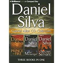 Daniel Silva Gabriel Allon CD Collection( Prince of Fire the Messenger the Secret Servant)[DANIEL SILVA GABRIEL ALLON 15D][ABRIDGED][Compact Disc]
