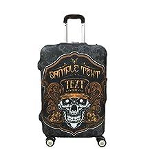 Myosotis510 Retro Wearproof Luggage Protector Suitcase Cover 18-32 Inch