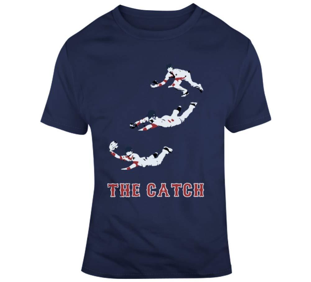 Andrew Benintendi The Catch Boston Baseball Fan T Shirt 2132
