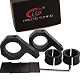 House Tuning bull Bar Mount Brackets 1.125 inch Tube Clamp, 1.25 inch Tube Clamps, 1.5 inch Roll Bar Tube Clamps (Pack of 2) (1 1/4~1 1/2 inch Clamp)