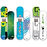 Burton 3 Pack 16GB SnowDrive USB Flash Drive, Cus11, Fea11, Pro11