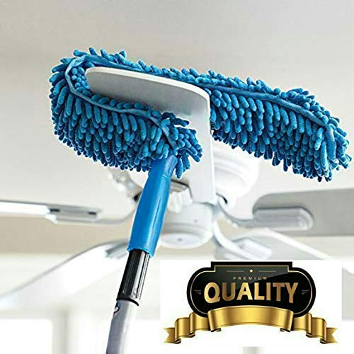 Asign Fan Duster, Fan Cleaning Duster, Flexible Foldable Microfiber Duster Brush, Fan Duster for car Home Interior Multipurpose Cleaning Brush with Long Rod Multi Color Price & Reviews