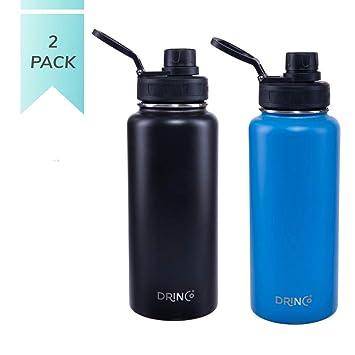 Amazon.com: Drinco - Botella de agua de acero inoxidable ...