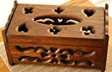 Thai Teak Wood Tissue Box OTOP Five Star Product form Thailand