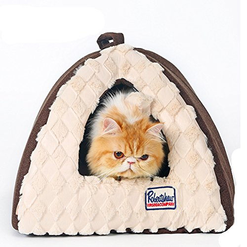 Baby-Story Cute and Fashion Pyramid Cat Bed, Mini Animal Cando, Kitten Play House, Puppy/Dog Tent ( Colour B)