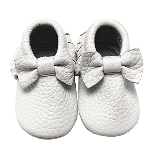 adb95033e0b8f Mejale Baby Girl Shoes Soft Soled Leather Moccasins Slip-on Infant ...