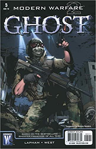 Modern Warfare 2 Ghost Comic Book