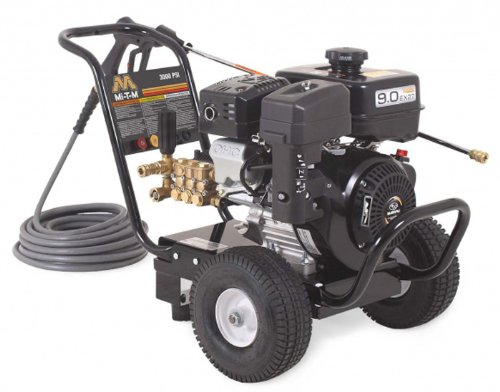 Mi-T-M-JP-3003-3MSB-Cold-Water-Direct-Drive-265cc-Subaru-OHC-Gasoline-Engine-3000-PSI-Pressure-Washer