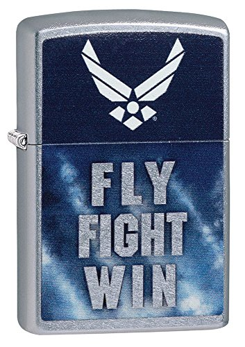 (Personalized Message Engraved Customized U.S. Air Force Zippo Indoor Outdoor Windproof Lighter (Style1))