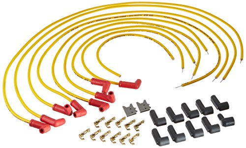 ACCEL 8030 Universal Fit 8.8 mm Spiral Spark Plug Wire Set Accel Universal Fit Spiral
