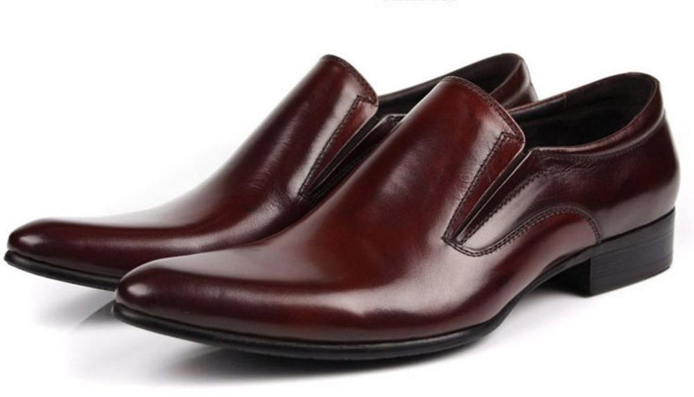 XIE Hombres Hombres Negocio Boda Cuero Vestir Soltero Zapatos Hombres Hombres Formal 001191