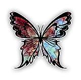 Vinyl Junkie Graphics Monarch Butterfly Sticker 14 Custom Color Patterns (Mocca)