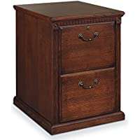 Martin Furniture Huntington Oxford 2 Drawer File Cabinet, Burnish - Fully Assembled
