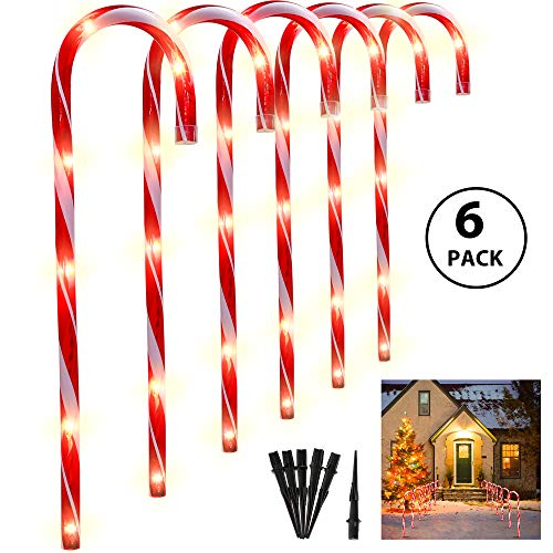 Top 9 recommendation christmas path lights candy cane for 2020
