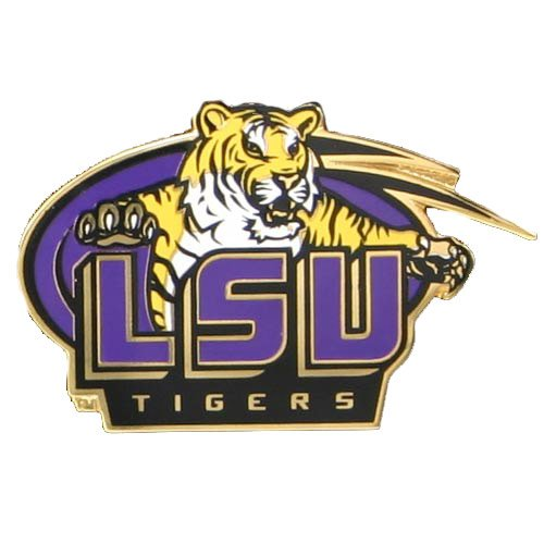 NCAA LSU Tigers Logo Pin ()
