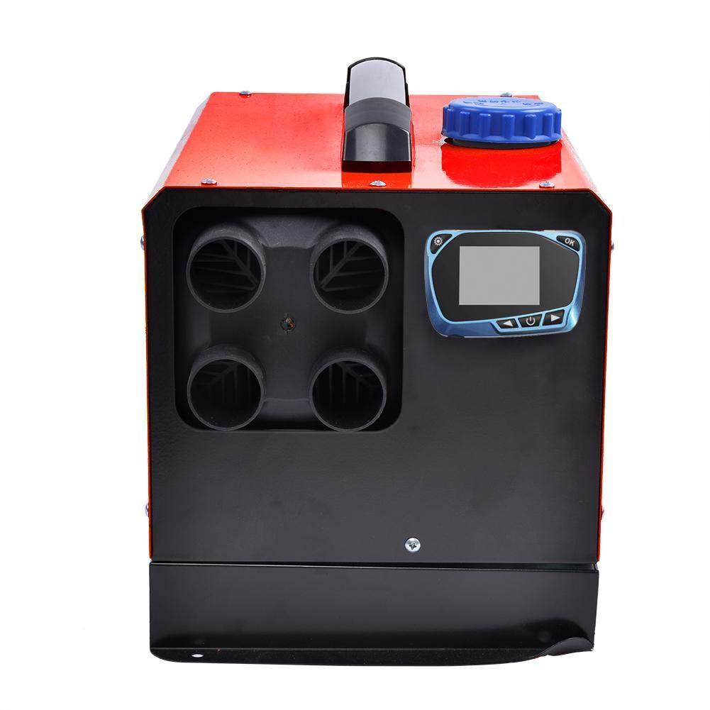 LCD Thermostat-Monitor f/ür RV LKW-Boots-Auto Anh/änger Diesel Air Heater 24V Alle in einem Kit mit Fernbedienung Auspuff Luftkanal Integration Vier L/öcher Gebl/äseluft Standheizung 5 kW 12V