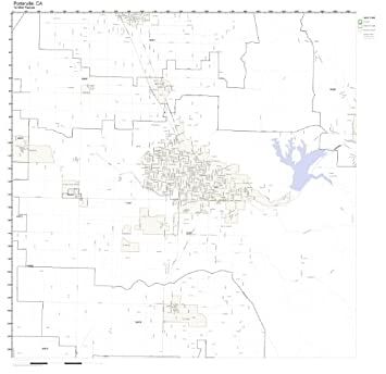 Amazon.com: Porterville, CA ZIP Code Map Laminated: Home & Kitchen