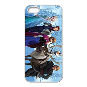 ZXCV Frozen Princess Elsa Anna Kristoff Olaf Sven Hans Cell Phone Case for Iphone 5s