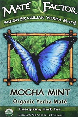 Mate Factor Organic Yerba Mate Mocha Mint 20 Bag(S)